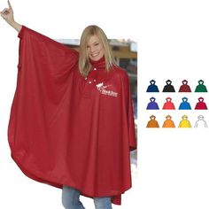 Rain Ponchos make great fundraisers. Perfect fro all sports booster fundraisers. Pre-sell custom rain ponchos for your group. Rain Poncho, Hooded Poncho, Waterproof Poncho, Ny Usa, Rain Wear, Trade Show, Fundraising, Menswear, Ponchos