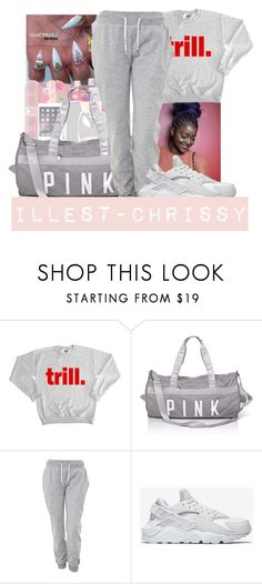 """""""Read Description Please"""" by illest-chrissy ❤ liked on Polyvore featuring White Label, NIKE and living room"""