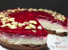 Ohne Zucker, ohne Mehl und vor allem in nur 10 Minuten zubereitet: Cheesecake mit... | Top-Rezepte.de