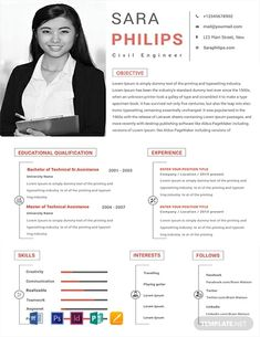 Free Resume for Software Engineer Fresher Template Engineering Resume Templates, Sample Resume Templates, Job Resume Samples, Engineering Jobs, Modern Resume Template, Resume Template Free, Templates Free, Free Resume, Word Templates