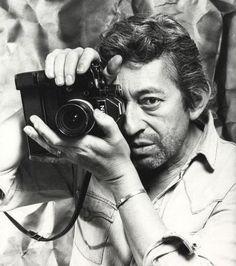 Serge Gainsbourg et un Nikon