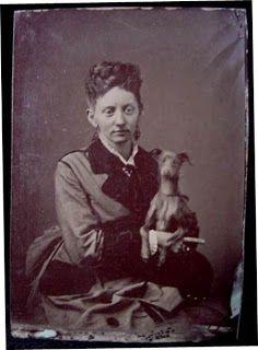Dog Pound Museum: Antique Photo of an Italian Greyhound