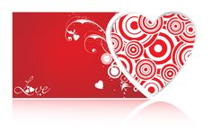 Abstract Red Heart HD Widescreen Wallpapers