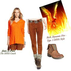 Rich, Dynamic Fire-Type 3 DIVA by jeanlprice on Polyvore