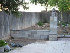 paint outdoor cinder block wall ideas | decorative painting