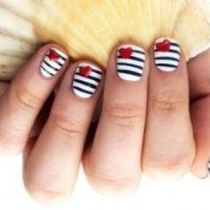 Lovely spring nail art!
