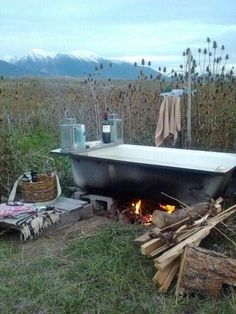 Image result for bath tub outdoors editorial