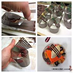 "~ Chocolate Spiral Chocolate Decor production, ""PB & J"" final plating - The ChefsTalk Project"