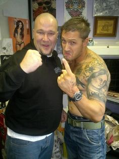 Tom Hardy, love when he does the DeNiro look!