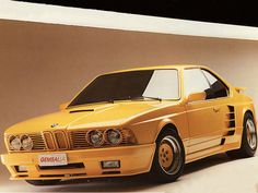 Where is the Gemballa-tuned BMW 635CSi found at Uday Hussein's palace?