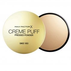 Create your own professional-looking complexion with the Max Factor Crème Puff, which is perfect for those who love a soft and matte polish finish to their skin.