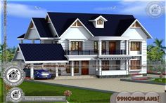 South Indian House Plans & Double Story Homes Designs Plan Collections Free House Design, Duplex House Design, House Front Design, Small House Design, Small Contemporary House Plans, Modern House Floor Plans, Kerala Traditional House, Traditional House Plans, House Plans With Pictures
