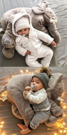You and your little one will absolutely love this amazing Baby Elephant Pillow. It also makes the perfect baby shower gift! You and your little one will absolutely love this amazing Baby Elephant Pillow. It also makes the perfect baby shower gift! The Babys, So Cute Baby, Cute Baby Clothes, Clothes Swag, Garçonnet Swag, Baby Elefant, Elephant Pillow, Baby Elephant Toy, Purple Elephant