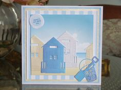 Tattered Lace - Days Out collection Birthday Gift Cards, Happy Birthday, Tattered Lace Cards, Beach Cards, Kids Cards, Craft Cards, Die Cut Cards, Masculine Cards, I Card