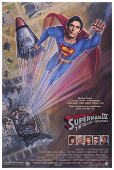 Superman IV The Quest For Peace movie poster