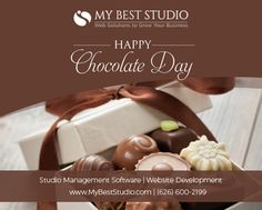May this Chocolate Day bring you lots of love & happiness. - My Best Studio (Website Design and Software Company in US) Fitness Pilates, Pilates Workout, International Chocolate Day, Happy Chocolate Day, Pilates Studio, Studio Software, Fitness Studio, Best Yoga, I Am Awesome
