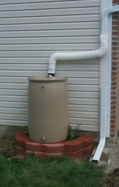 How To Make A Rain Barrel Stand Already Have The Pavers