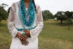 Stunning Native American Sky Blue/Sterling Concho Belt! - ACCESSORIES - cowgirlkim.com