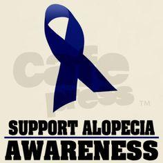 Autoimmune Alopecia awareness!