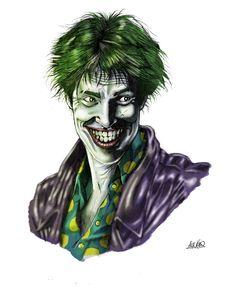 Joker by AMKsketch