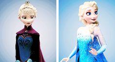 Coronation!Elsa and Snow Queen!Elsa