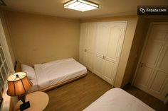Twin Room: The Twin Room comes with two super single beds.