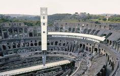 Arqueología del Futuro: 1984 L'economia italiana dopo guerra. Coliseum Exhibition [Studio Transit Design] / DJ ARCHITECTURE