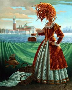 Michael Cheval - Tidying a Tide
