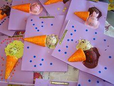 Els nostres moments a l'aula d'infantil: Tapa álbum helados