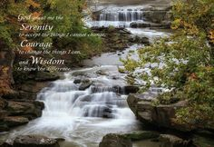 Serenity Prayer Poster featuring the photograph Serenity Prayer by Dale Kincaid