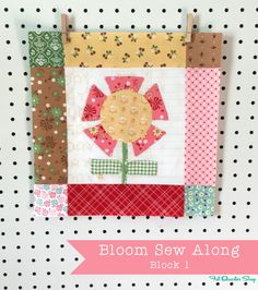 Bloom Sew Along with Lori Holt of Bee in my Bonnet