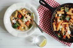 Pětimunotvá omáčka na těstoviny - rajčatová s ricottou