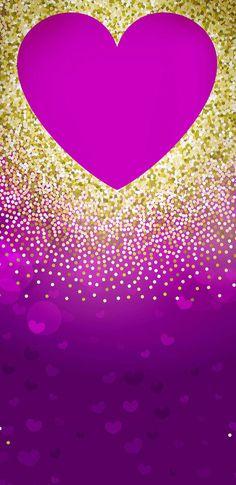 Glittery Wallpaper, Bling Wallpaper, Purple Wallpaper, Love Wallpaper, Wallpaper Backgrounds, Wallpaper Ideas, Wallpapers, Kawaii Background, Scrapbook Background