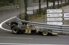 Emerson Fittipaldi Lotus Montjuich '73. Grid 7, finished 1st