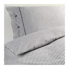 NYPONROS Duvet cover and pillowcase(s) - Twin - IKEA..love this for the bunks we have!  39.99 queen/double  and 29.99 Twin