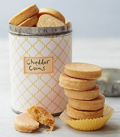 Not everyone wants sweets: These savory Cheddar shortbreads with a hint of cayenne are a nice break from the sugar rush — and totally make-ahead. Get the Cheddar Coins recipe »  - GoodHousekeeping.com
