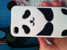Panda bear Phone case! Love pandas!!!:):););):);)