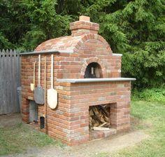 rumford style fireplace | backyard bread oven. | My Style