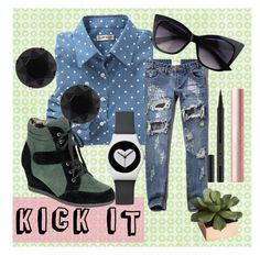 """Kick It"" by maria-addison on Polyvore"