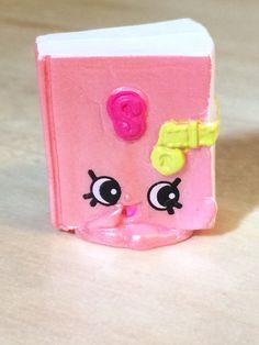 Secret Sally Pink Polished Pearl 3-128 Shopkins Season 3