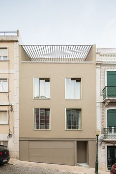 Completed in 2016 in Lisbon, Portugal. Images by Francisco Nogueira. The building, remodeled several times, is an emblematic example of the changes that continue to affect Lapa, one of the most charming quarters of...