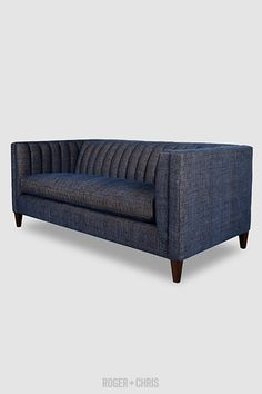 mid century modern channel tufted shelter sofas armchairs sectionals harley channel tufted furniture