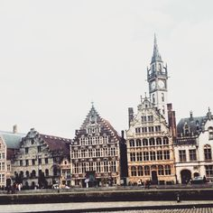 Here is Ghent, where there are lots of Ghentlemen