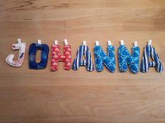 Buchstabenkette nach unserem kostenlosen Schnittmuster