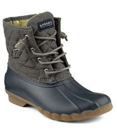 Sperry Saltwater Quilted Waterproof Cold-Weather Duck Boots