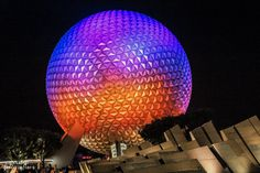 Parques de Orlando Spaceship Earth