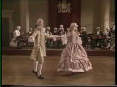 More baroque dancing, this time to a pair of minuets from Handel's Water Music (courtesy English Bach Festival Dancers). Check out those pas de bourrées! Tks to @Angharad Davis for this oldie-but-goodie