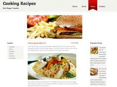 Food Blogger Templates | 31 Best Blogger Templates Images On Pinterest Blogger Templates