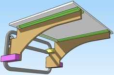 Outfeed Table for Dewalt Table Saw for 10 includes Plans 4 Steps Table Saw Workbench, Table Saw Jigs, Diy Table Saw, Workbench Ideas, Router Table, Circular Saw Reviews, Best Circular Saw, Jet Woodworking Tools, Woodworking Techniques