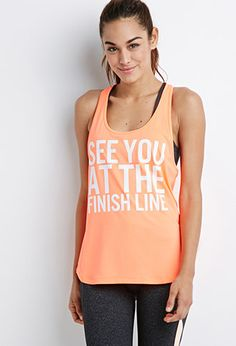 Finish Line Athletic Tank | Forever 21 | #f21active